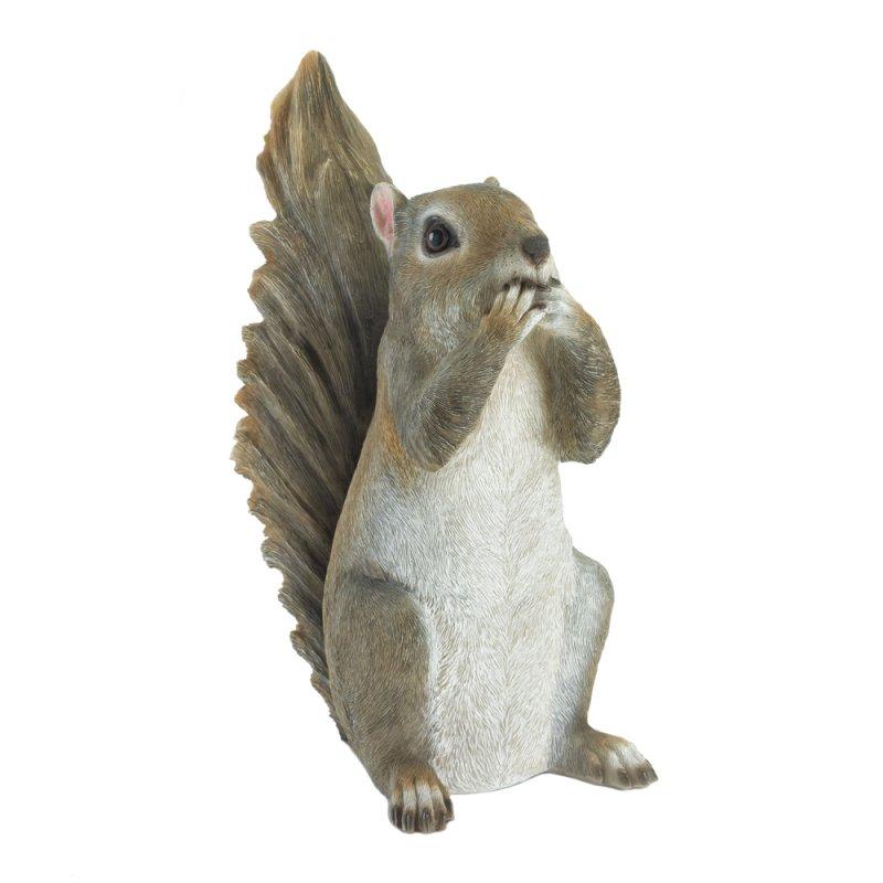 Image 1 of Speak No Evil Squirrel Garden Figurine