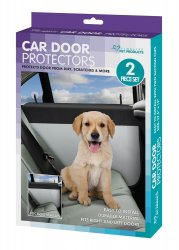 Set of 2 Right and Left Pet Car Door Protector Covers