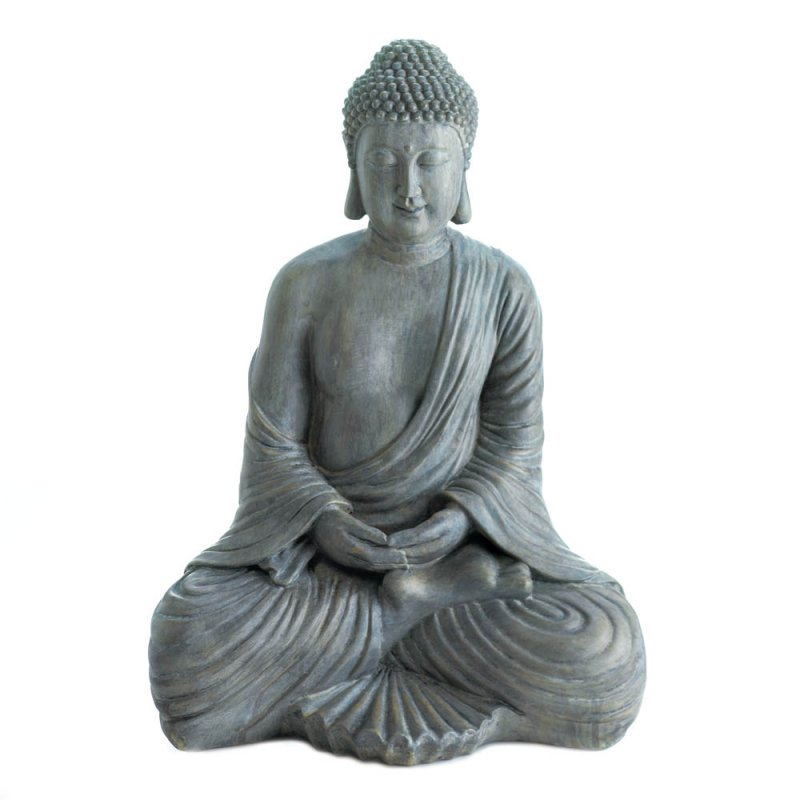 Image 0 of Zen Meditation Sitting Buddha Statue Figurine