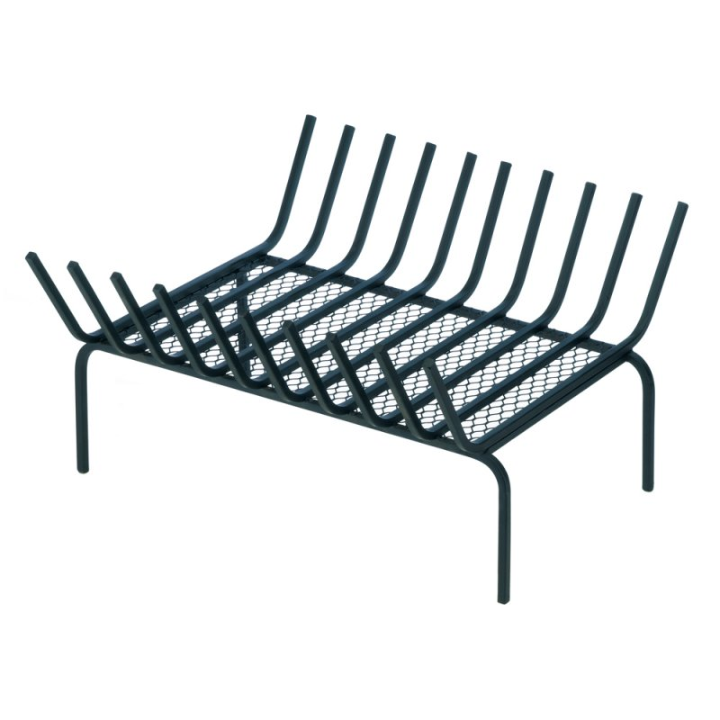 Image 0 of Iron Fireplace Log Firewood Holder Rack