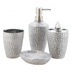 '.Silver Bath Accessories.'