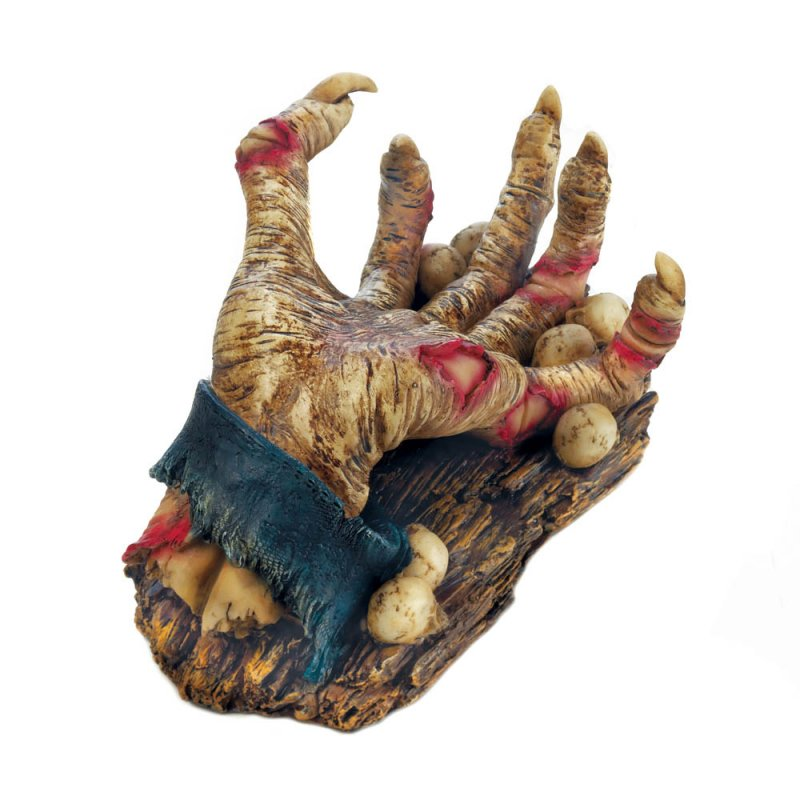 Image 0 of Zombie Hand Wine Bottle Holder