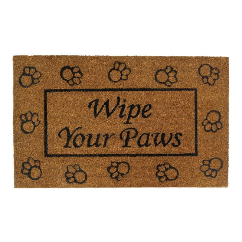 Image 0 of Wipe Your Paws Outdoor Welcome Door Mat Rug