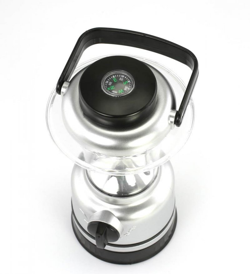 Image 2 of Super Bright 15 LED Lantern with Compass Great for Camping, Patio, Hiking