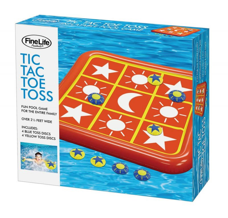 Image 0 of Tic Tac Toe Toss Pool Float Game 2 1/2 Feet Wide