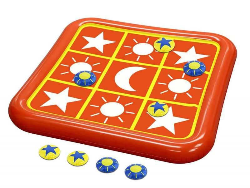 Image 1 of Tic Tac Toe Toss Pool Float Game 2 1/2 Feet Wide