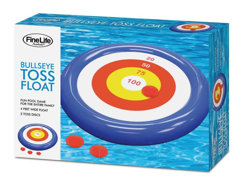 Image 0 of Bulleye Toss Pool Float Game 4 Feet Wide