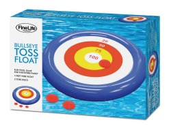 Bulleye Toss Pool Float Game 4 Feet Wide
