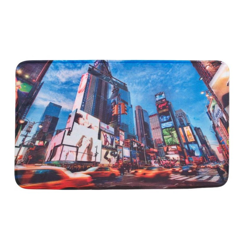 Image 0 of New York City Time Square Memory Foam Floor Mat for Entryway, Bath, Kitchen