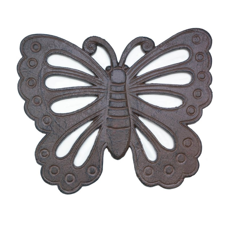 Image 1 of Cast Iron Butterfly Stepping Stone Garden Decor