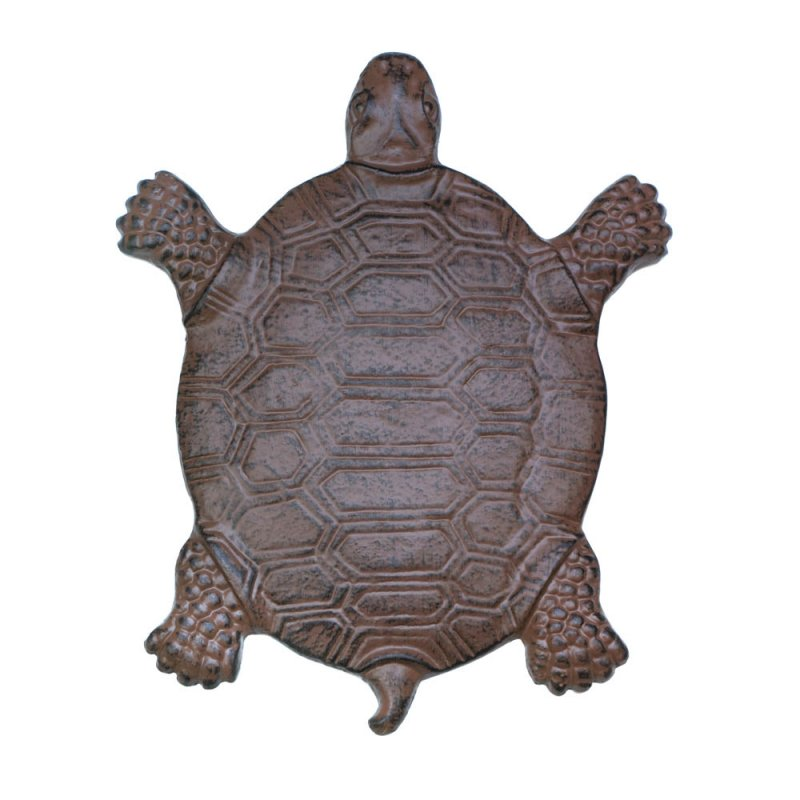 Image 1 of Cast Iron Turtle Stepping Stone Garden Decor