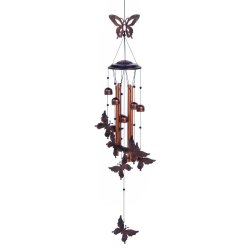 Fluttering Butterflies & Small Bells Wind Chime