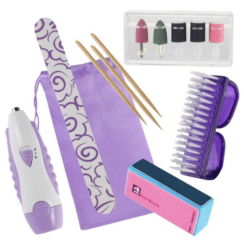 Image 0 of 14 Piece Manicure Tool Set with Storage Pouch