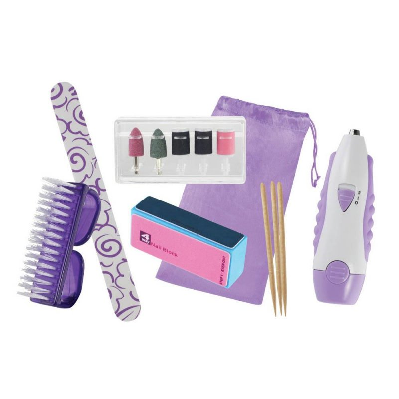 Image 1 of 14 Piece Manicure Tool Set with Storage Pouch