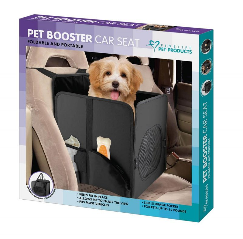 Image 0 of Pet Booster Car Seat with Storage Pockets