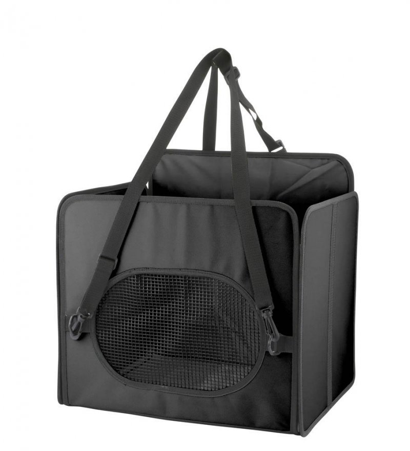 Image 3 of Pet Booster Car Seat with Storage Pockets