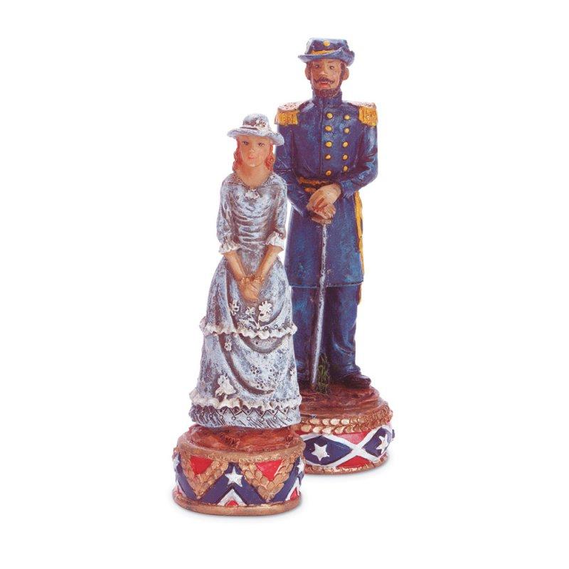 Image 2 of Civil War Theme Chess Set