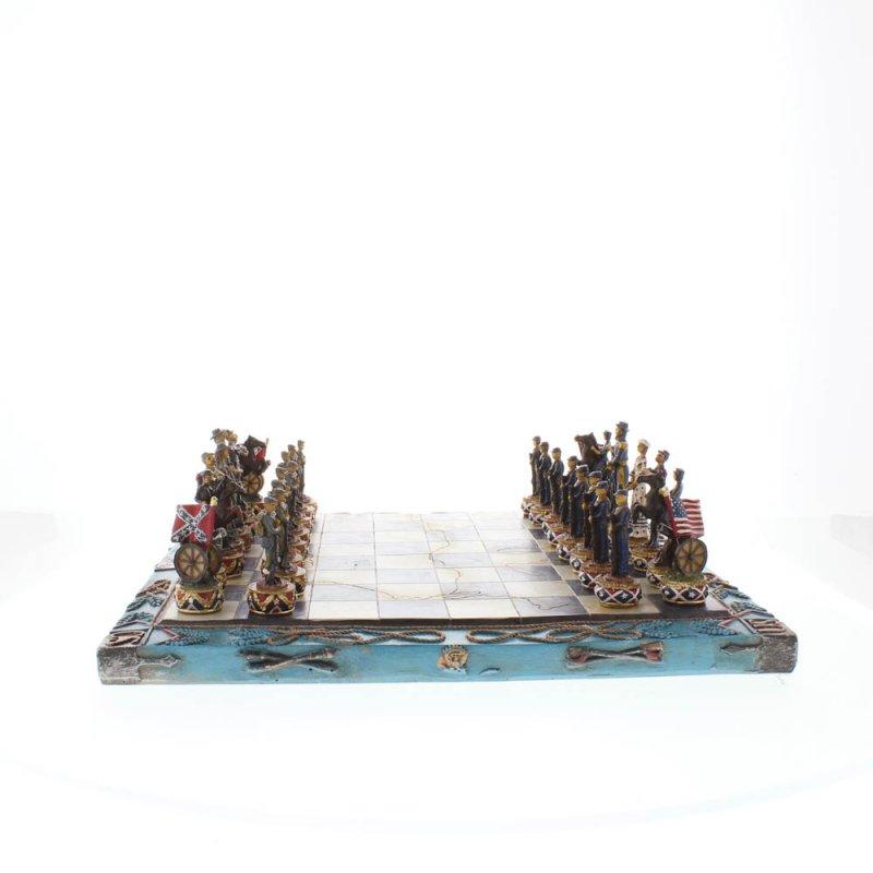Image 3 of Civil War Theme Chess Set