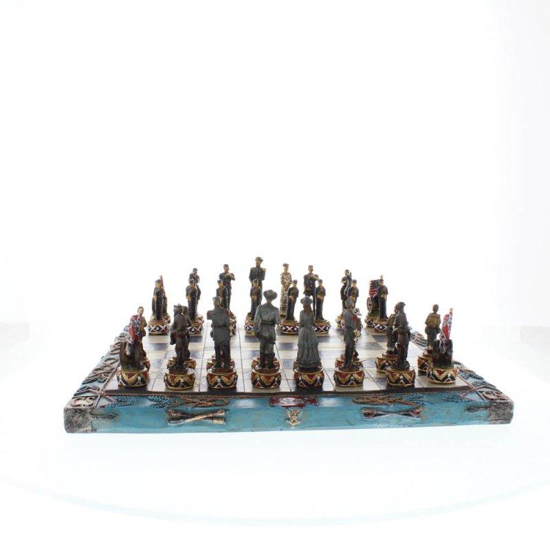 Image 5 of Civil War Theme Chess Set