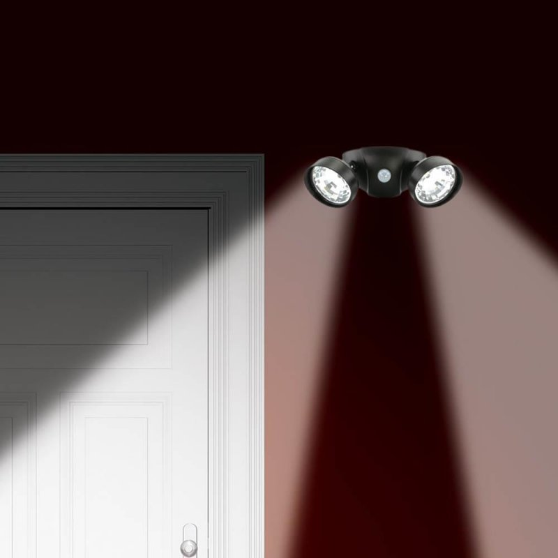 Image 0 of Motion Activated Duel Security Super Bright LED Light 10 foot Range