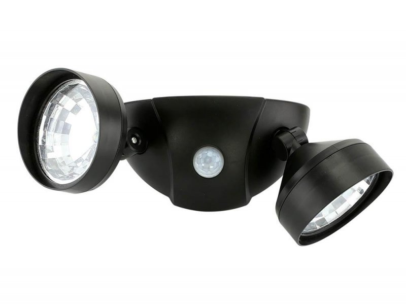 Image 2 of Motion Activated Duel Security Super Bright LED Light 10 foot Range