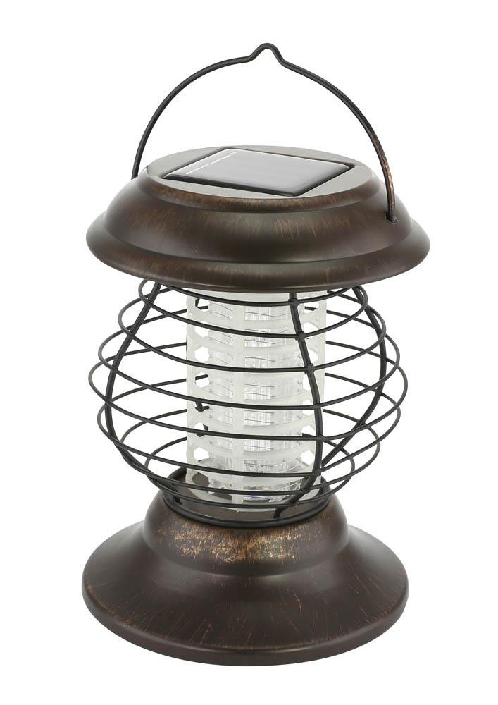 Image 1 of Solar Bug Zapper & Led Pathway Lantern 2 Light Modes 6 Hours Light Time