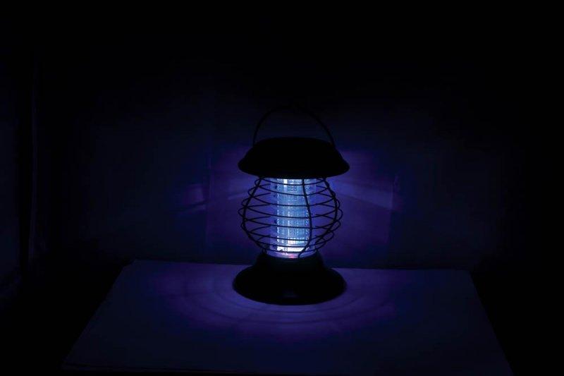 Image 3 of Solar Bug Zapper & Led Pathway Lantern 2 Light Modes 6 Hours Light Time