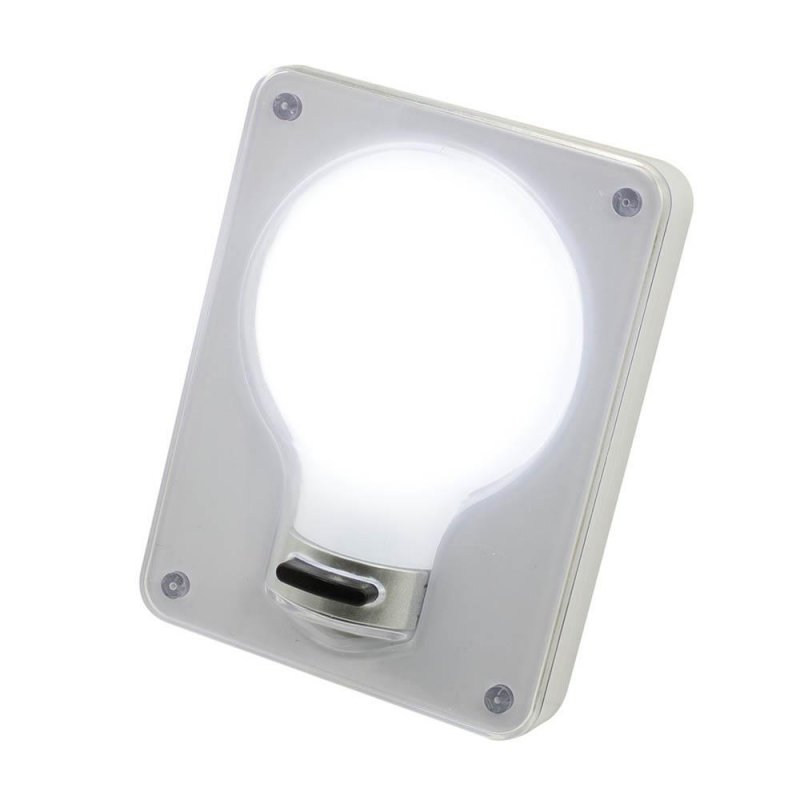 Image 1 of Cordless Cob Light Switch Wall Light 3 Modes Full, Light & Flashing 80 Lumens