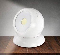 Cordless Cob Ball Light 3 Modes Full, Light & Flashing 150 Lumens