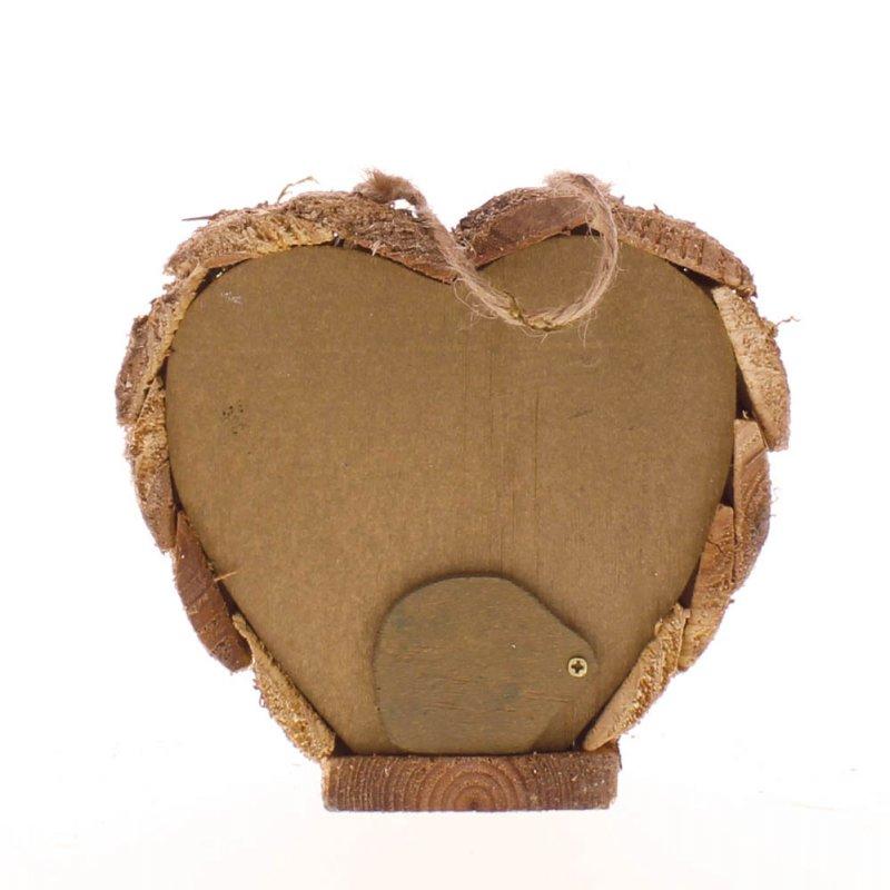 Image 2 of Heart Shaped Honeymoon Suite Love Shack Birdhouse