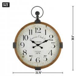 '.Vintage Industrial Wall Clock.'
