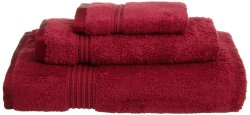 '.Burgundy 600 GMS Towel Set.'