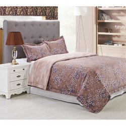 3-pc. King/Cal King Hillcrest Reversible Floral/Abstract Cotton Duvet Cover Set