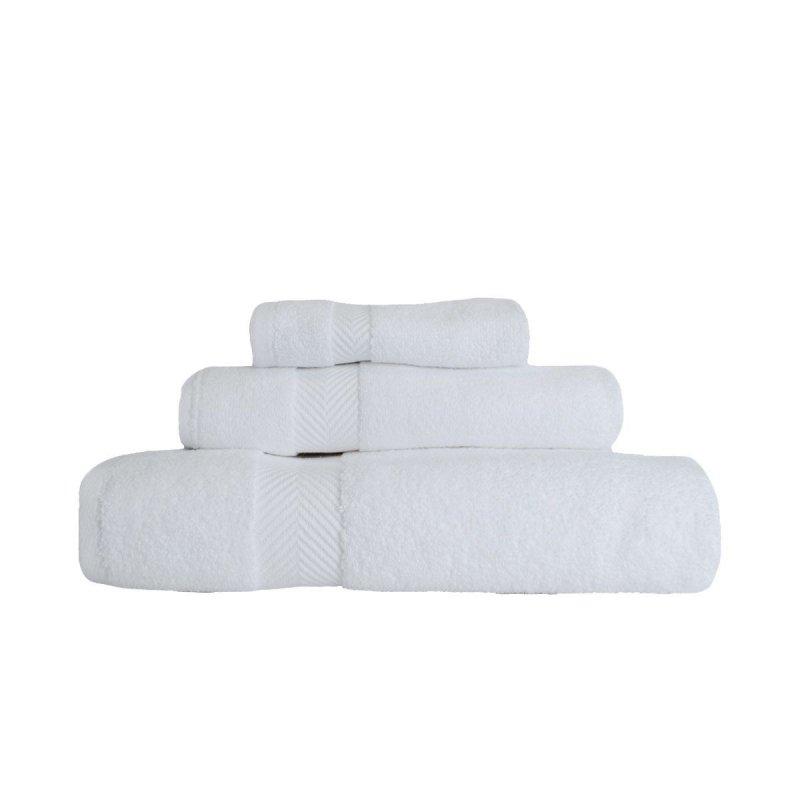 Image 13 of 3-pc Superior Zero Twist Soft Absorbent Towel, Hand Towel, Washcloth Set