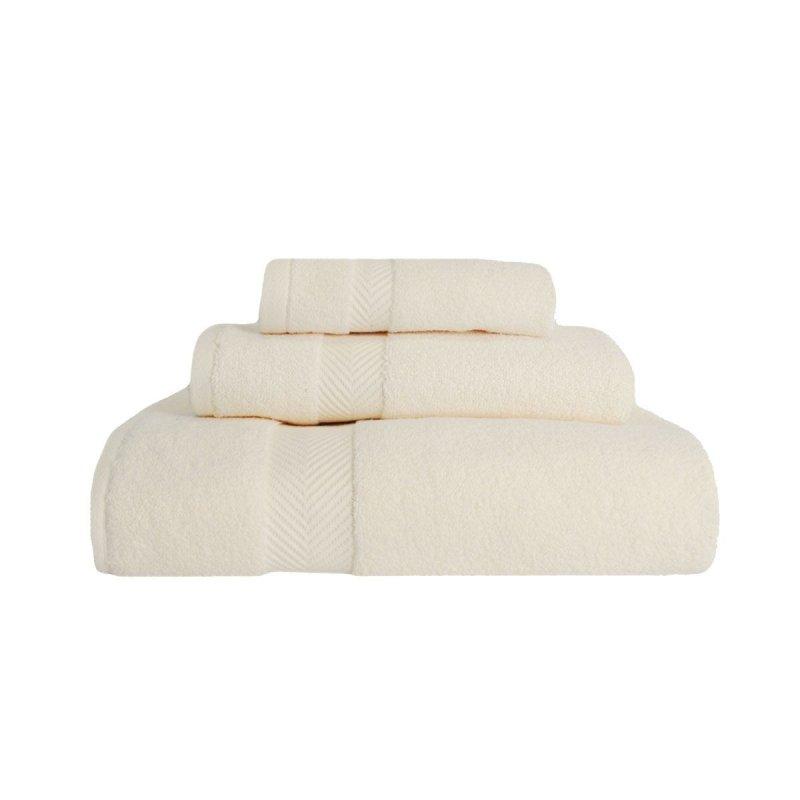 Image 7 of 3-pc Superior Zero Twist Soft Absorbent Towel, Hand Towel, Washcloth Set