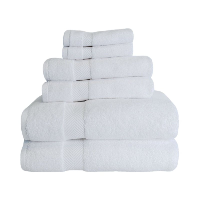 Image 13 of 6-pc Superior Zero Twist Soft Absorbent 2 Towels, Hand 2 Towels, 2 Washcloth Set