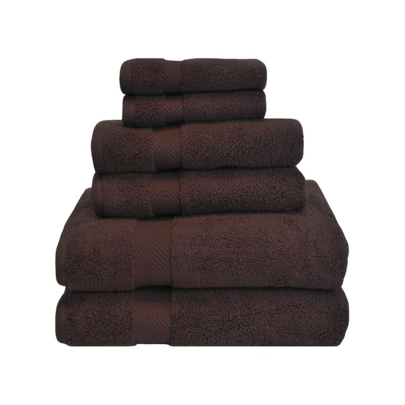 Image 5 of 6-pc Superior Zero Twist Soft Absorbent 2 Towels, Hand 2 Towels, 2 Washcloth Set