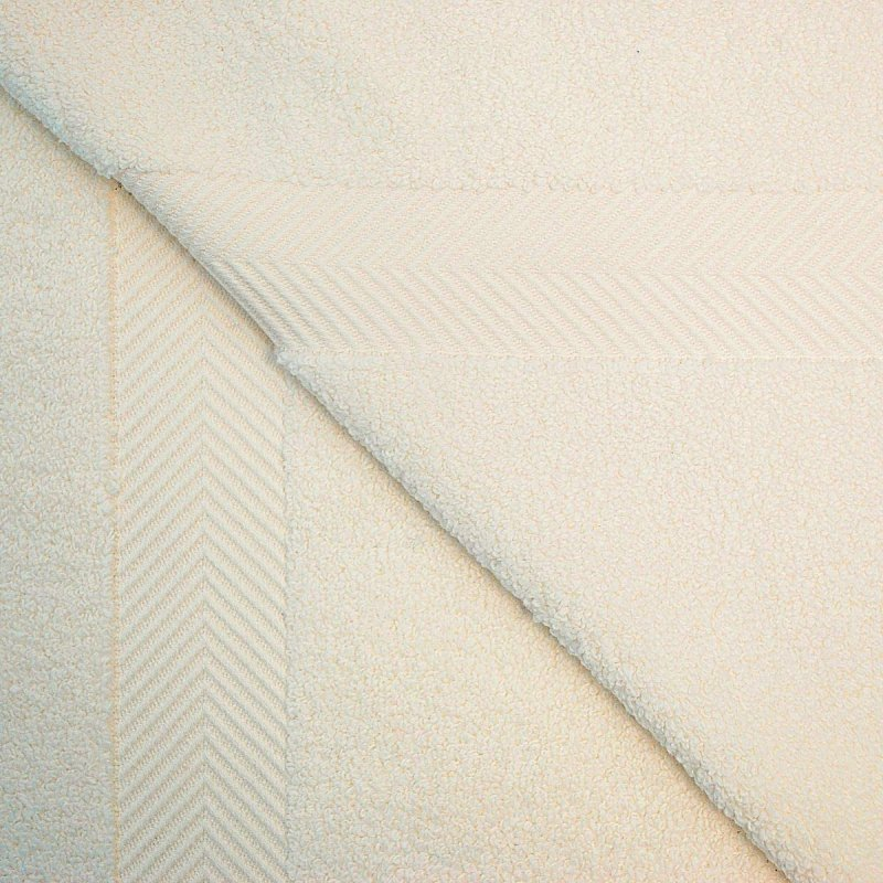 ivory Zero Twist Bath Sheets.