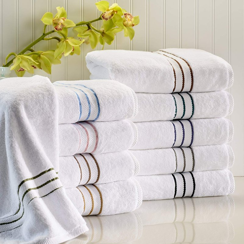 Image 0 of 2-pc Superior Hotel Egyptian Cotton Bath Towels  900 GSM 2-Ply