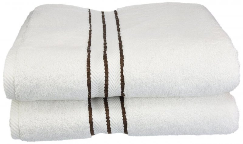 Plush two-ply terrycloth for added comfort.