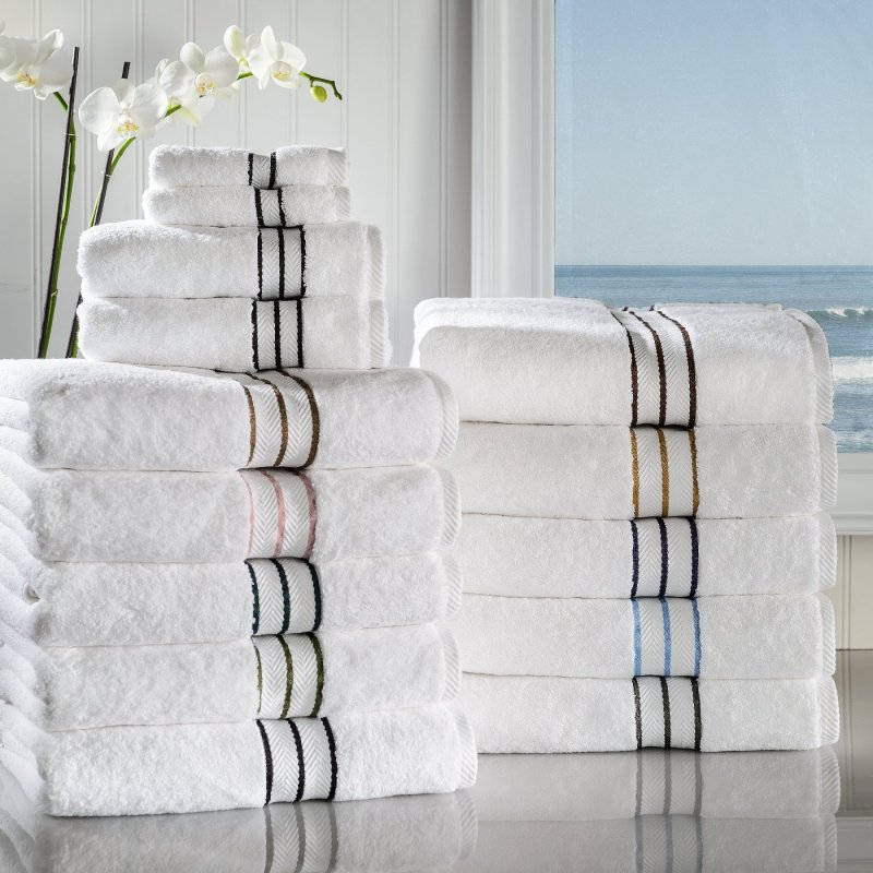 Image 0 of 6-pc Superior Hotel Collection 2 Hand, 2 Bath, 2 Washcloth Towel Set 900 GSM