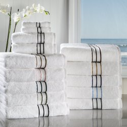 6-pc Superior Hotel Collection 2 Hand, 2 Bath, 2 Washcloth Towel Set 900 GSM