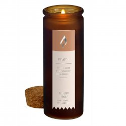 Orange Juice, Milky Chocolate Purify Scent Tincture Bottle Candle Cork Lid