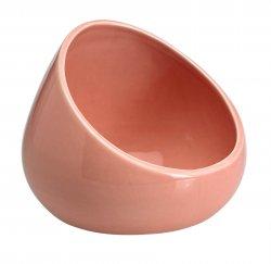 Ceramic Portable Boom Bowl for Cell Phones Amplifies Sound Pink Rose Quartz