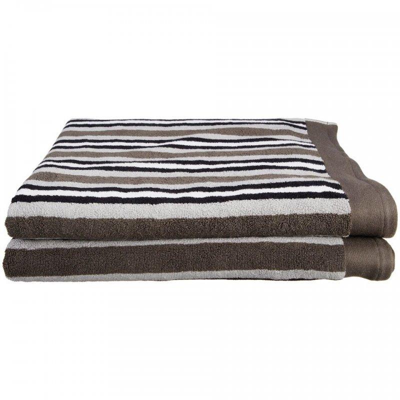 2 Piece Charcoal Bath Sheets