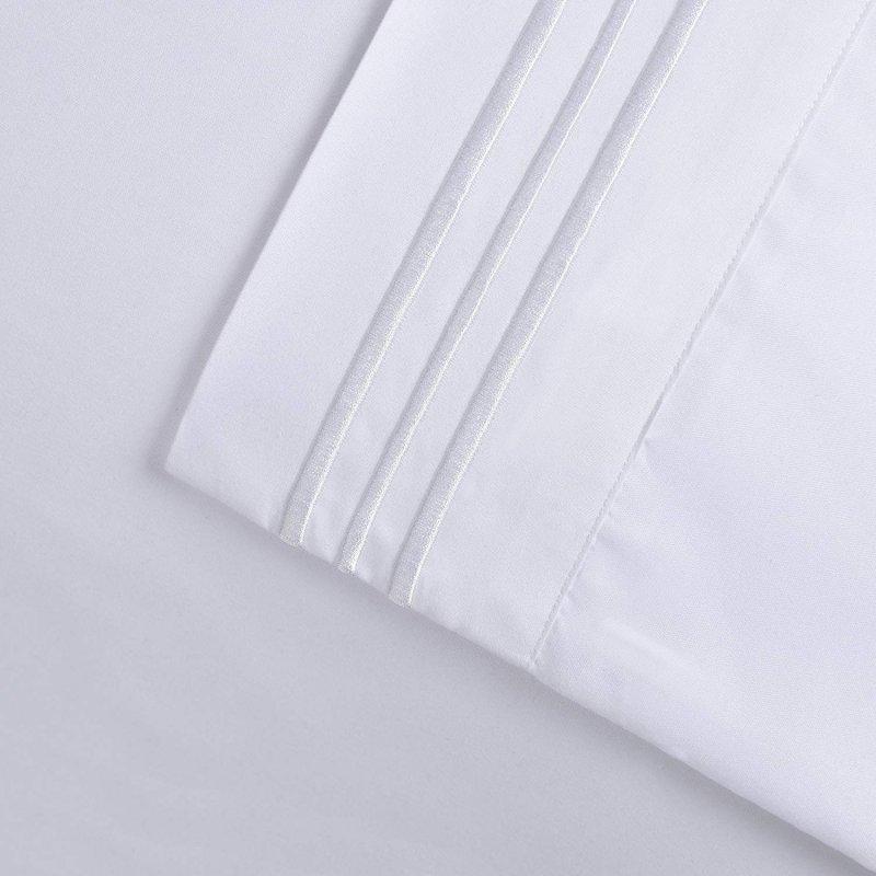 3 Line Embroidered Sheet Set