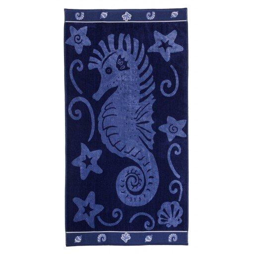 Sea Horse & Stars Beach Towel 34