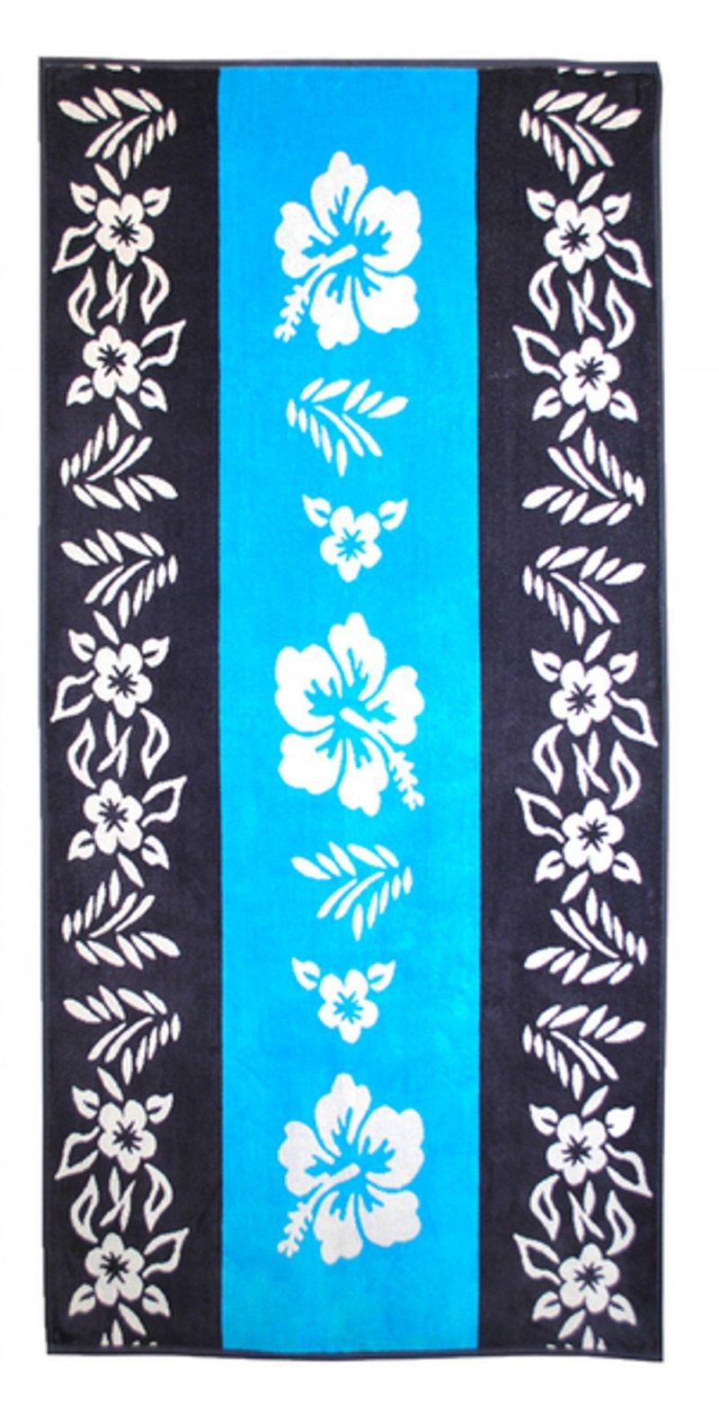 Hibiscus Floral Beach Towel 34