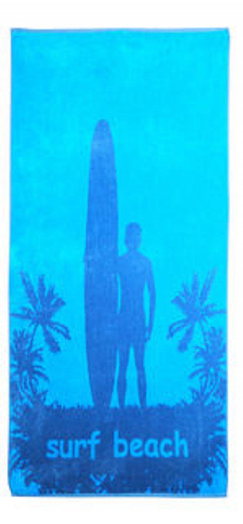 Surf Theme Beach Towel 34