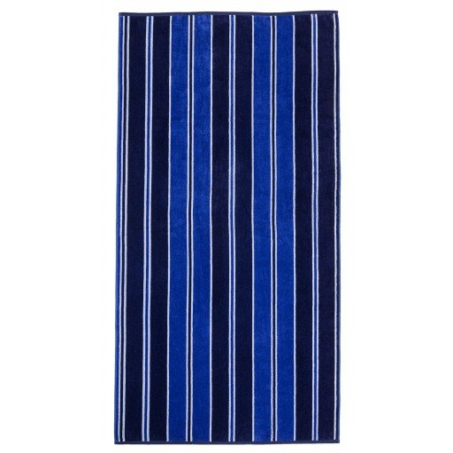 Blue Striped Beach Towel 34